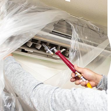 ハイクオリティー HQサプライでは、他社様の場合はオプションメニューとなる防カビコート、フッ素コート、また、研磨作業、高圧洗浄等すべて通常サービスに含まれております。